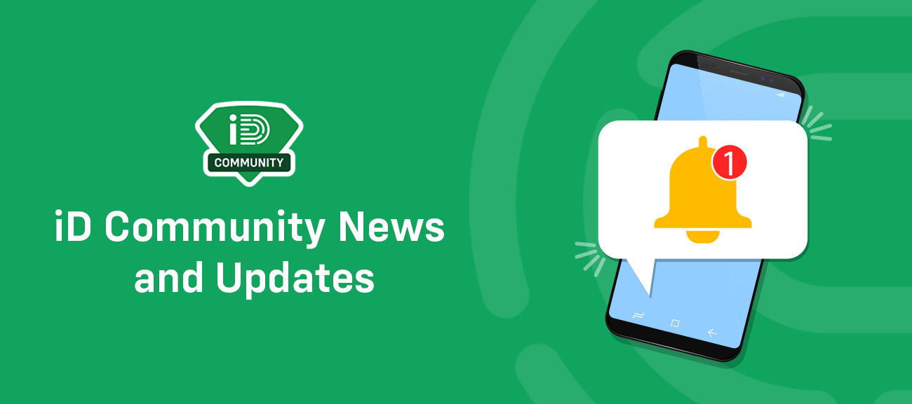 iD Community News and Updates - May 2021
