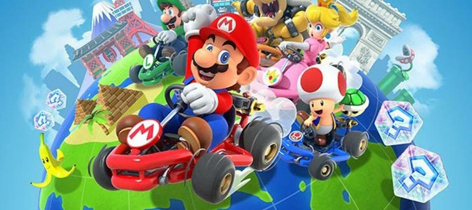 Mario Kart is on mobile!