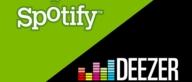 Free music streaming: Spotify vs Deezer.