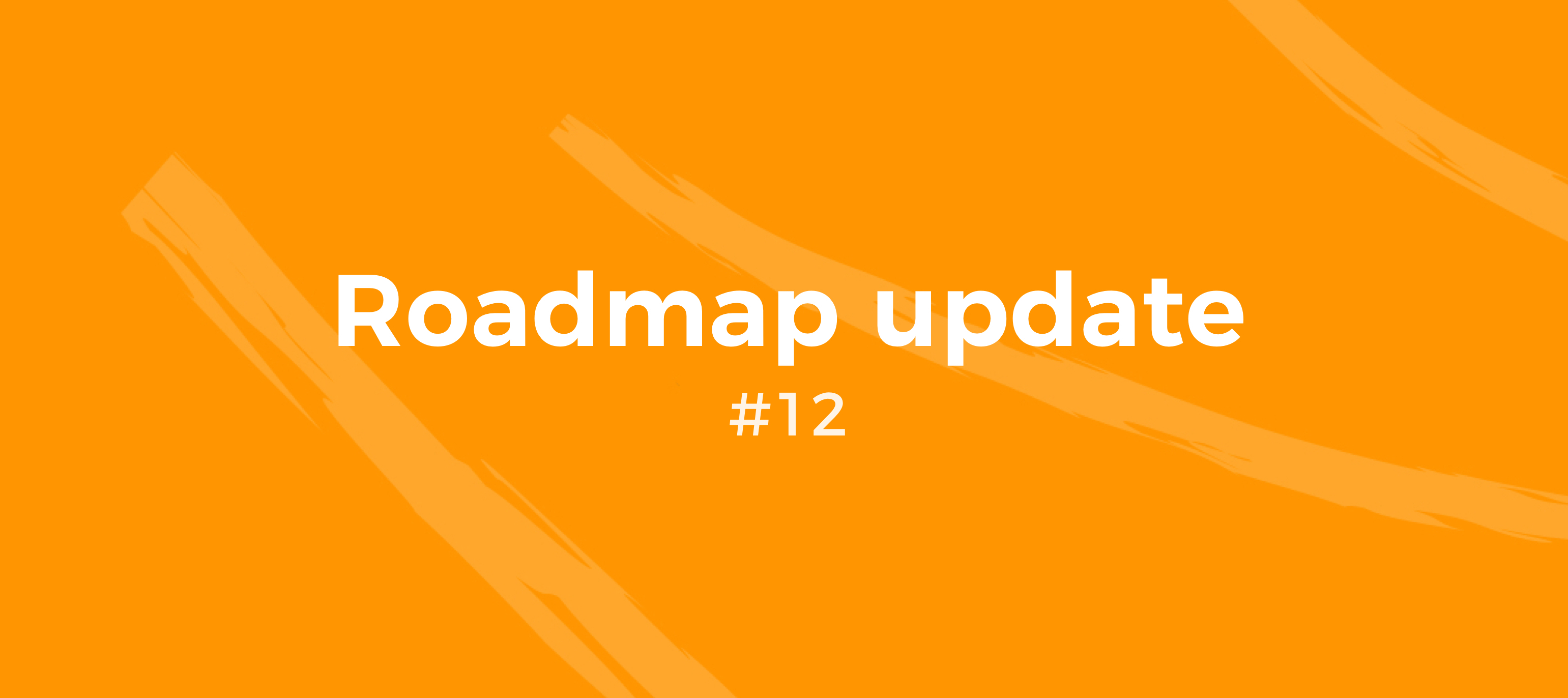 Roadmap Update #12