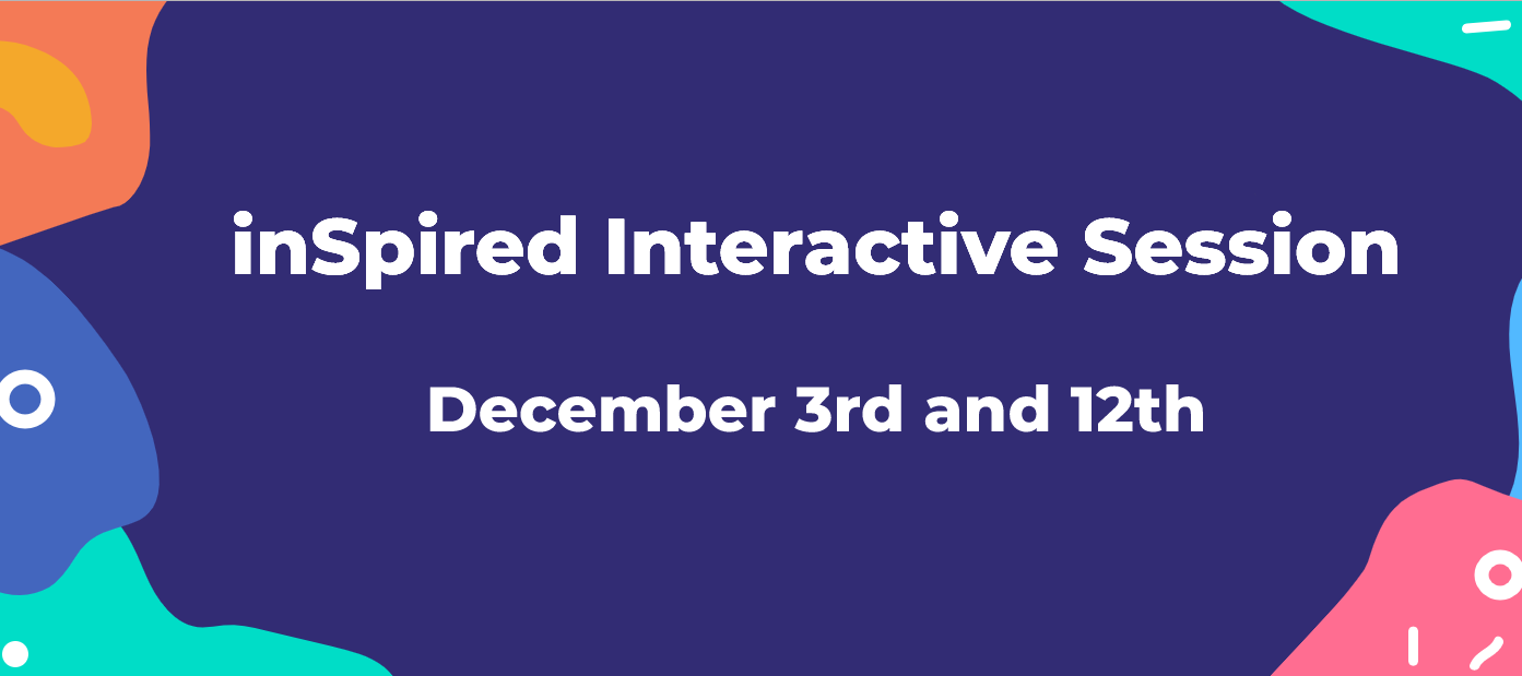 inSpired Interactive Session on December 3rd and 12th: How to manage customer feedback via your community?