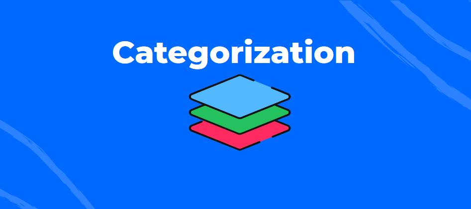 Community structure - a guide to categorization