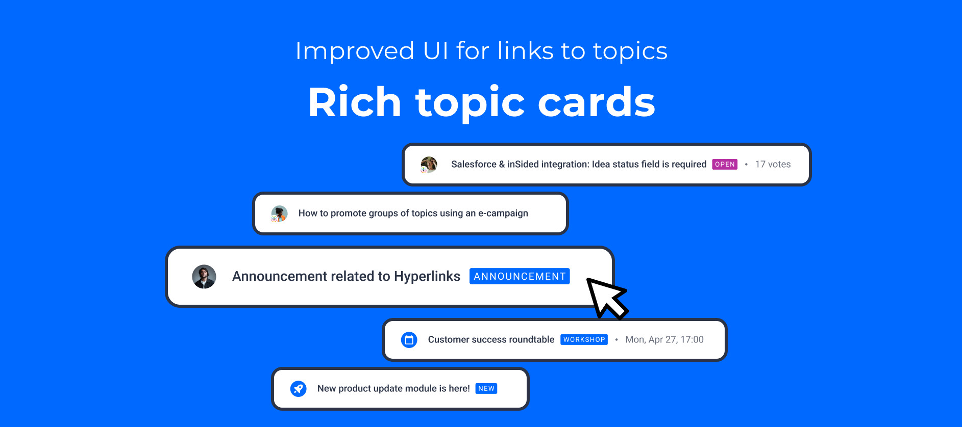 🔗 Improved UI for links to topics: Meet Rich topic cards