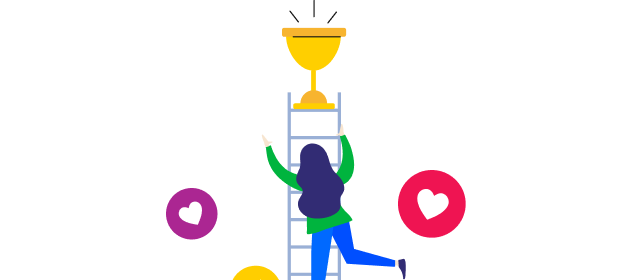 Target the competitive spirit of your members with a points-based leaderboard 🥇🥈🥉