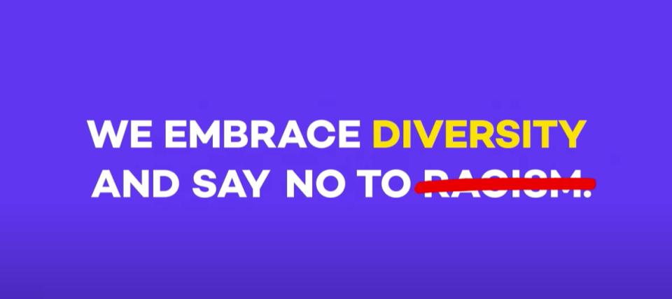 Wir feiern Vielfalt und sagen Nein zu Rassismus...