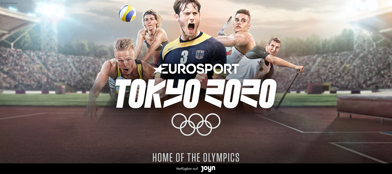 Die Eröffnungsfeier am 23.07.2021 (12:35 Uhr MET) der Olympischen Spiele Tokyo 2020 // Live bei Eurosport auf Joyn