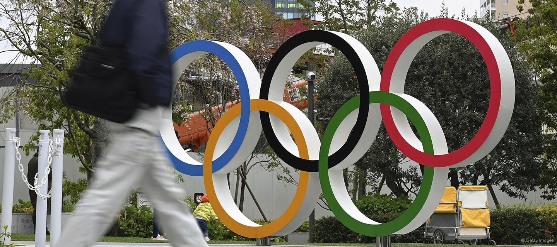 Die Maskottchen der Olympischen Spiele Tokyo 2020: Miraitowa und Someity