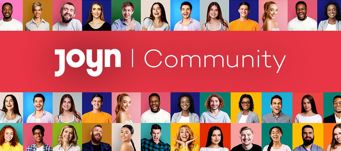 Willkommen in der Joyn Community