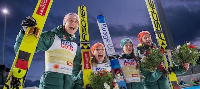 Nordische Ski-WM in Oberstdorf