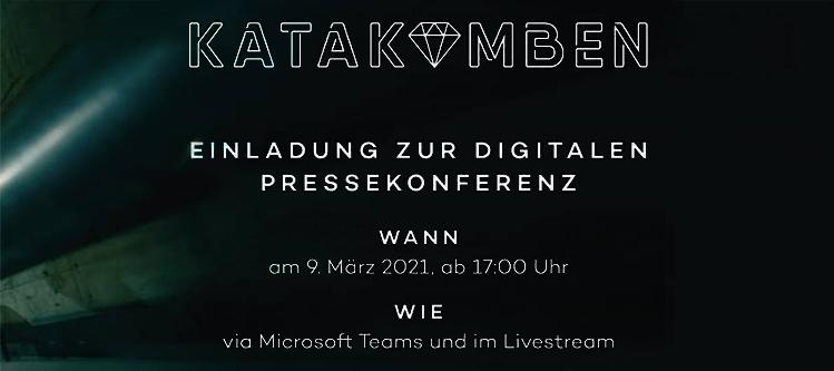 Katakomben Pressekonferenz - Livestream hier in der Community (Heute: 17 Uhr)