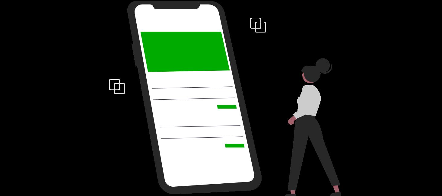 Hoe check ik het actuele verbruik van mijn mobiele abonnement?