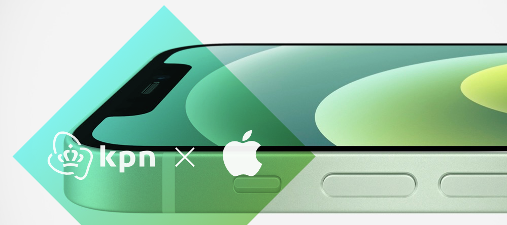 De iPhone 12 bij KPN zakelijk