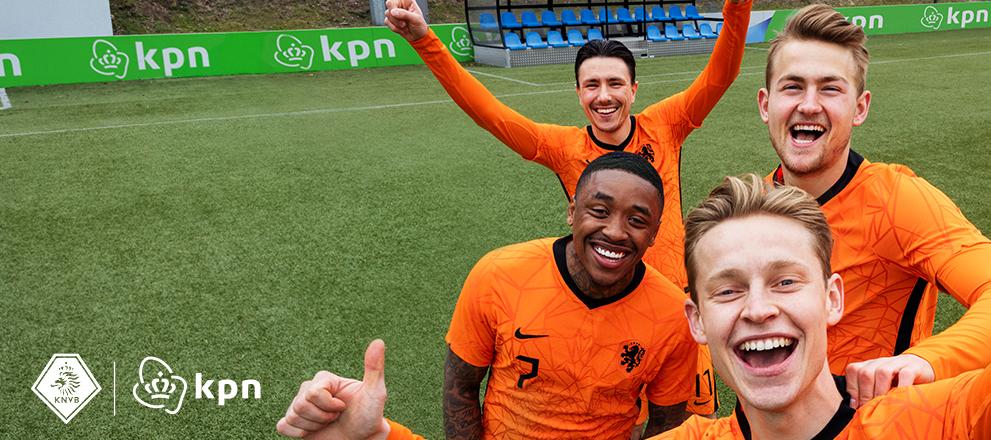 Beleef het EK voetbal 2021 in 4K samen met KPN