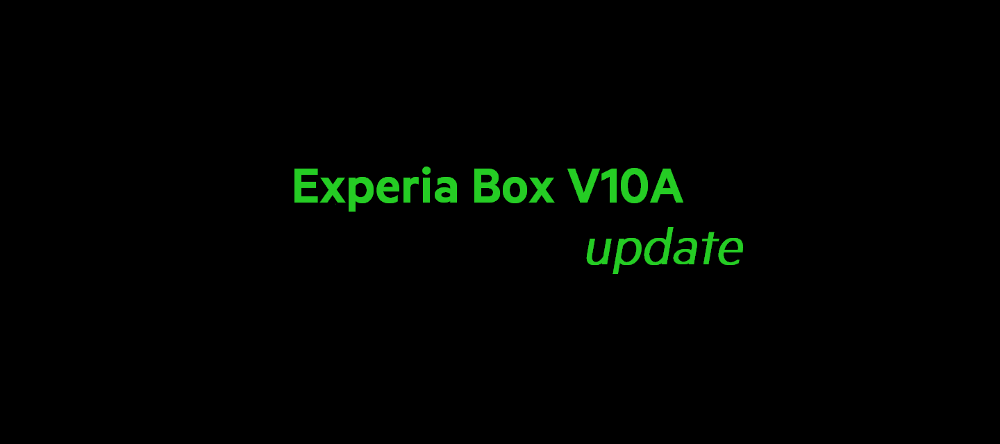 Firmware Update V10A v5.00.31_build420