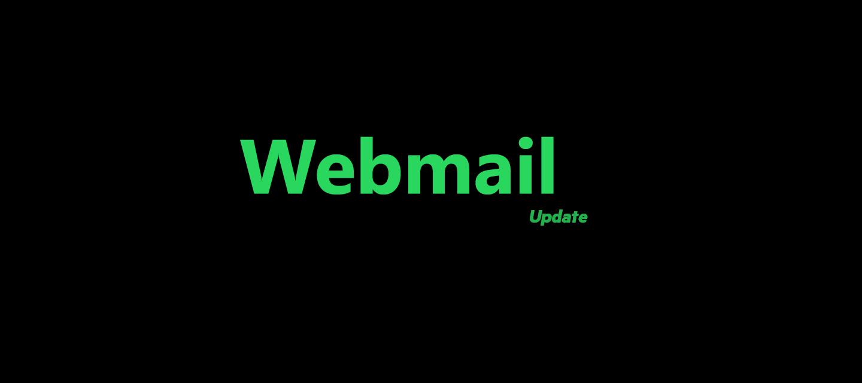 Wijzigingen in de nieuwe webmail