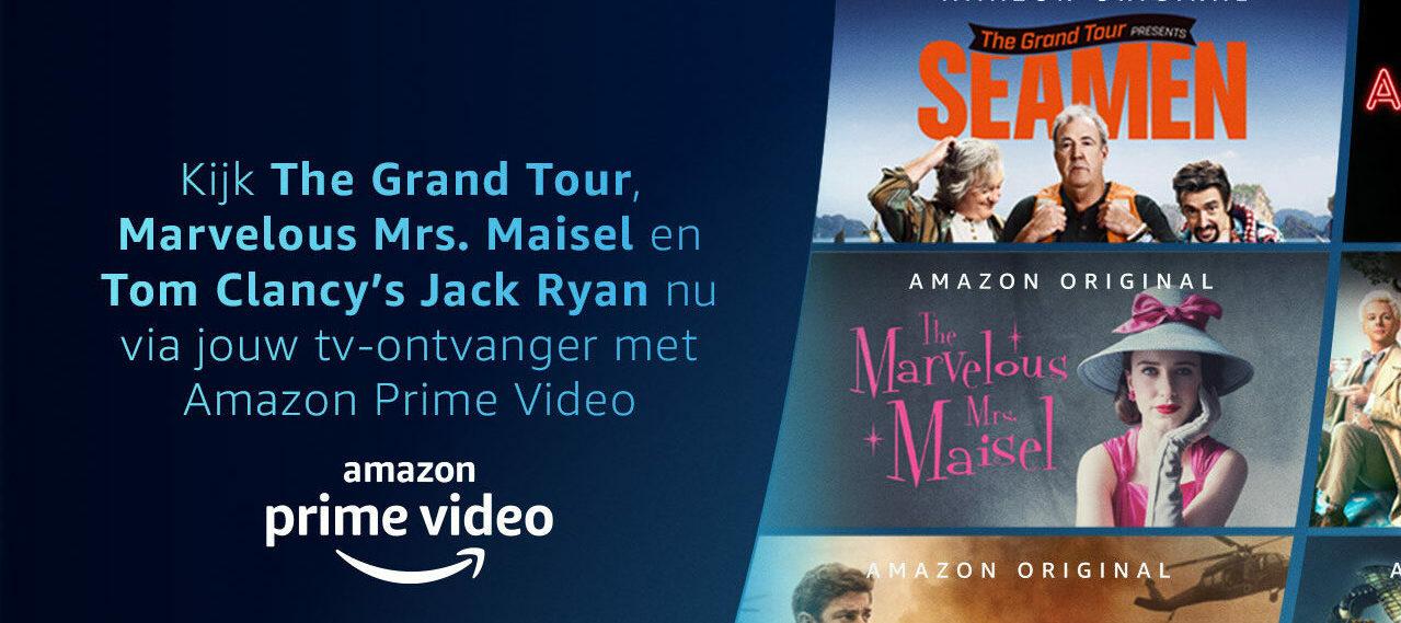 KPN maakt Amazon Prime Video kijken makkelijker met integratie in tv-menu