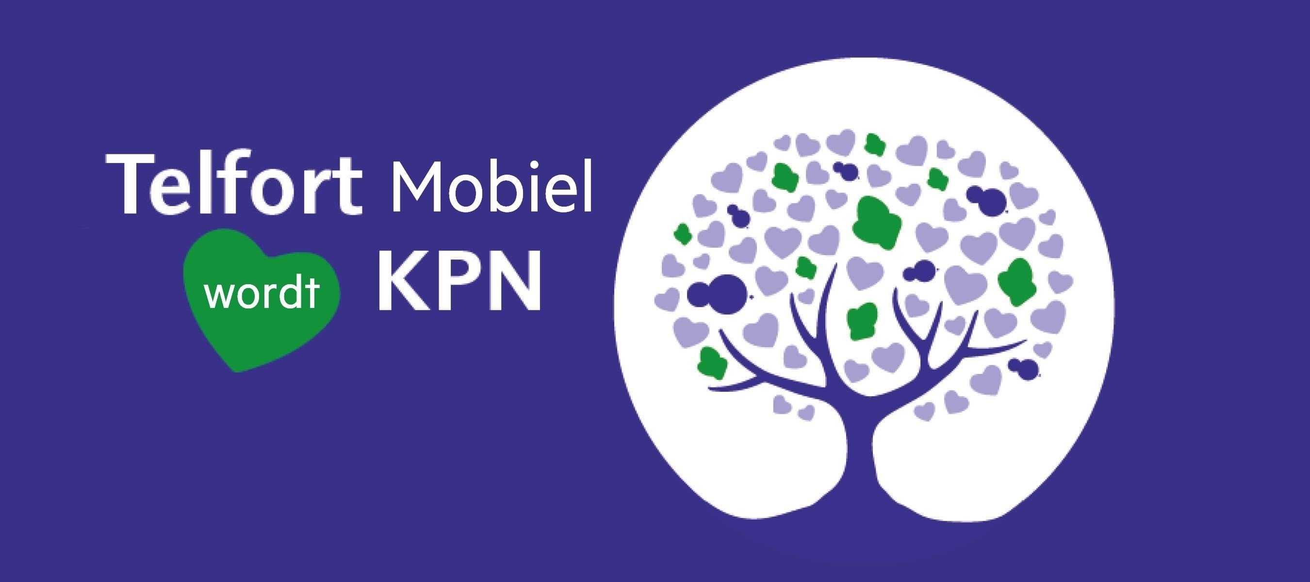 Telfort mobiel wordt KPN