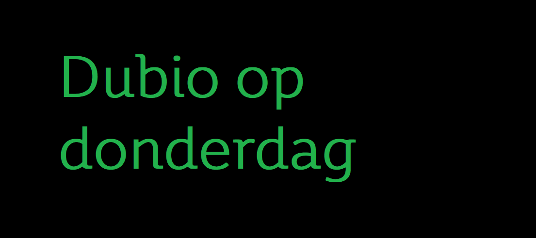 # 22 Dubio op donderdag - To lie or not to lie, that's the question