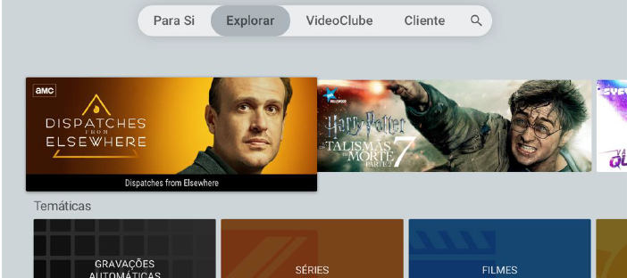 Nova versão APP MEO Android TV _V3.3.0