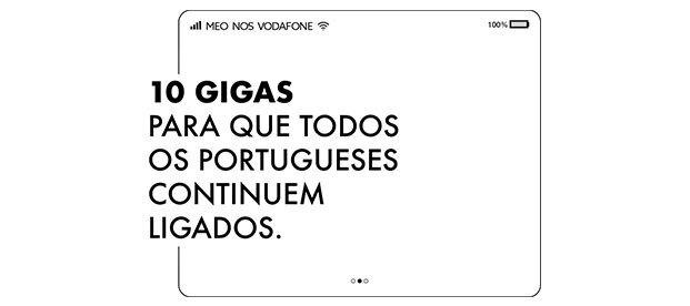 Oferta 10 GB - Para que todos os Portugueses fiquem ligados