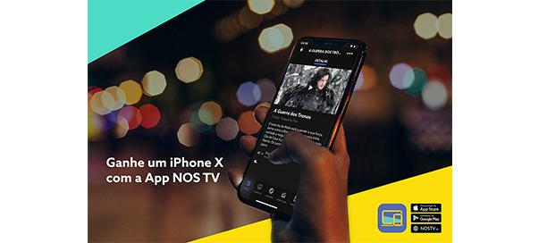 [Terminado] Passatempo App NOS TV – Ganhe um iPhone X!