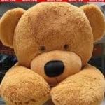 Een grote teddybeer