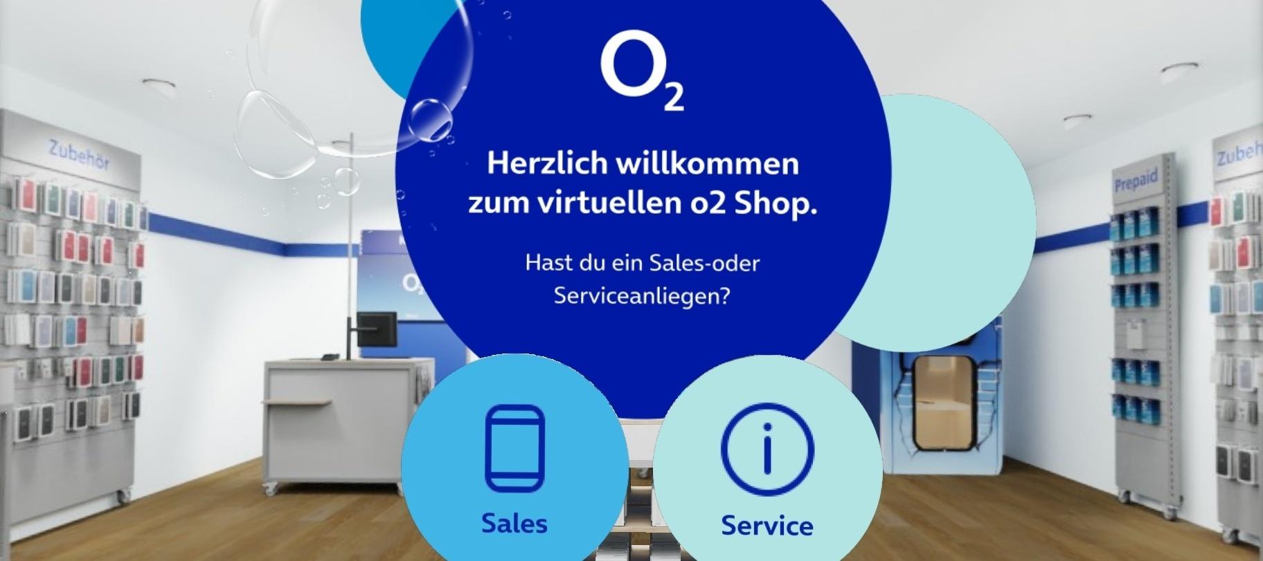 Web 360 Shop von O₂ - Testet den Shop, der zu euch nach Hause kommt