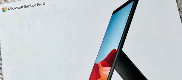 Bundle aus Microsoft Surface Pro X, Signatur-Tastatur und Surface Slim Pen. Hat es das Potential einen Apple Nerd auf die dunkle Seite von MS Windows zu holen ?