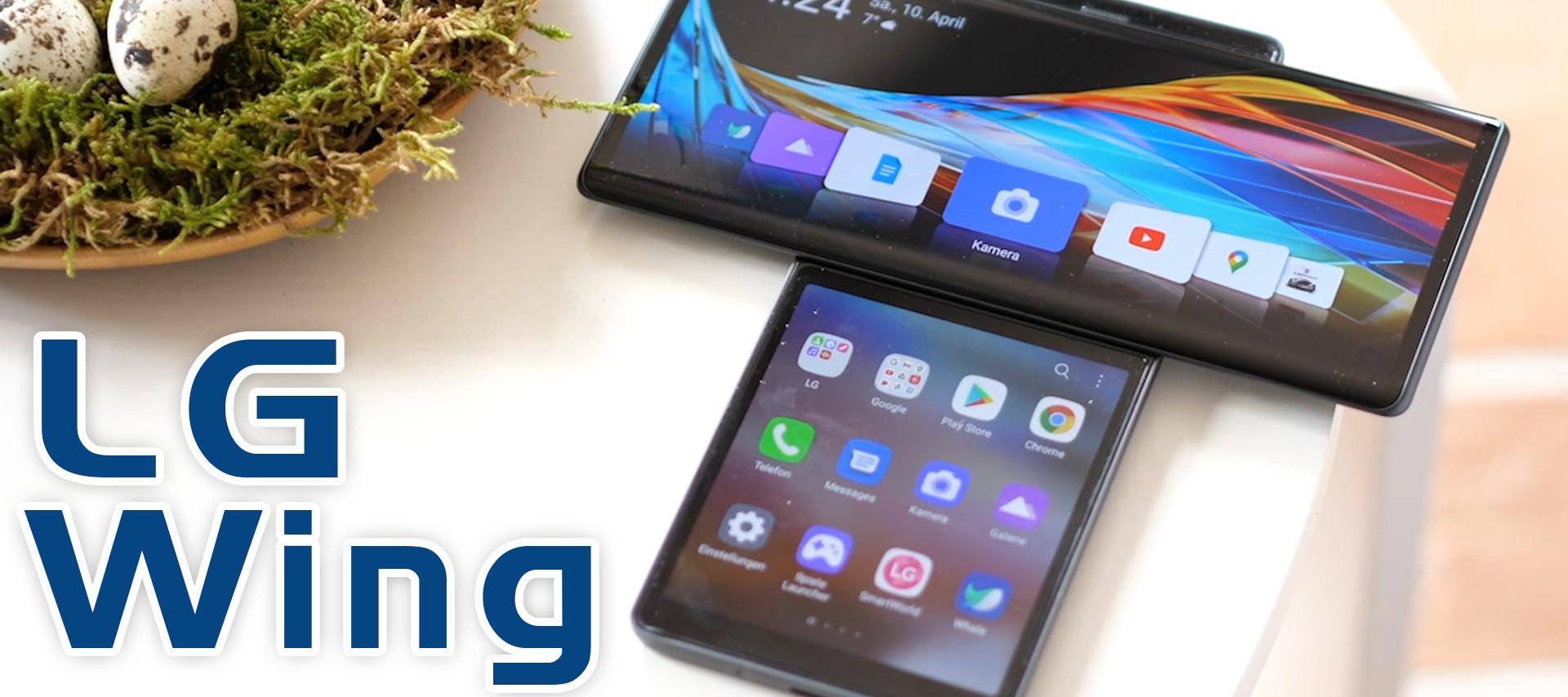 LG WING - Das erste Smartphone mit DREHBAREM Display