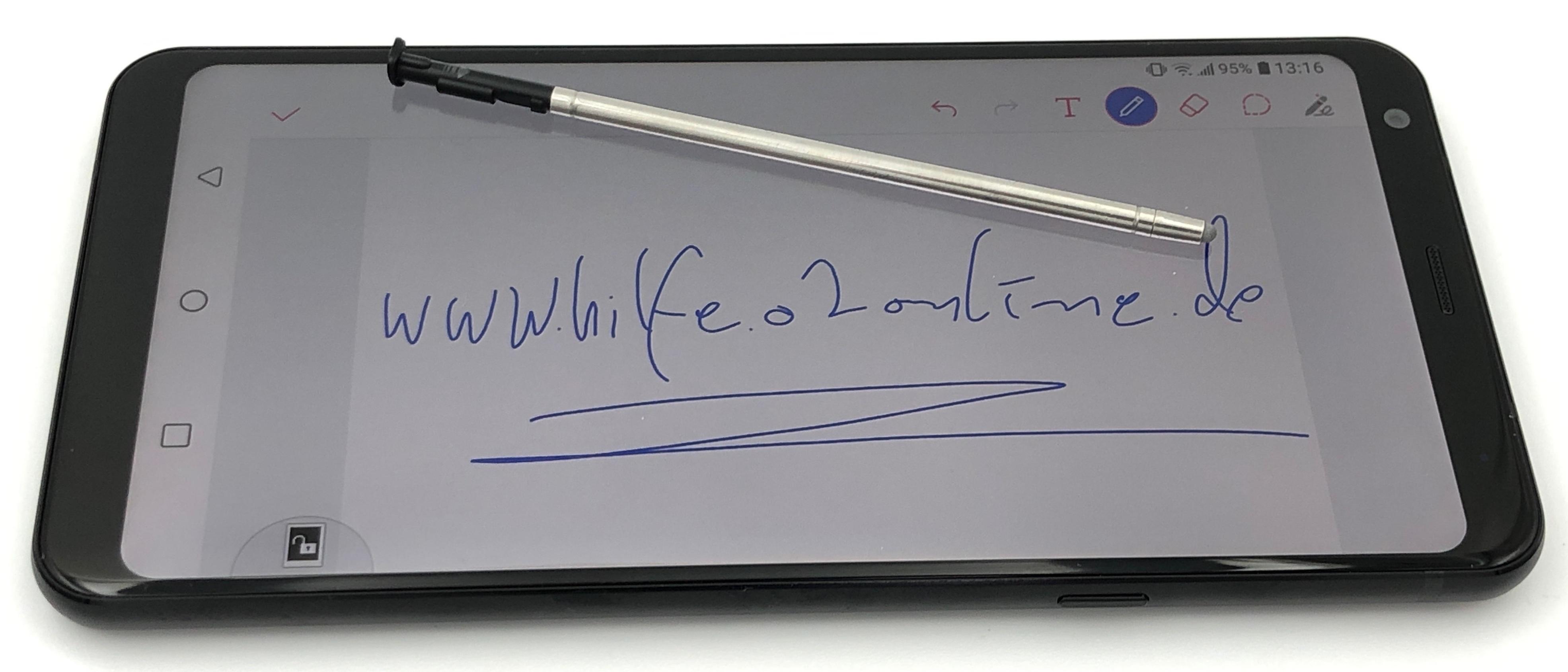 Testgerät LG Q Stylus