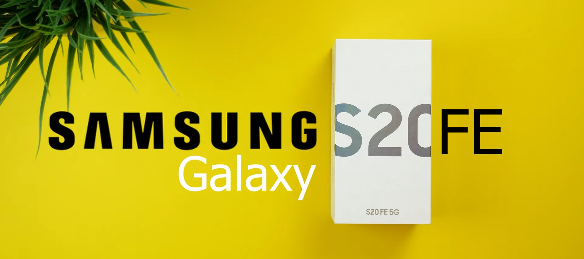 Samsung Galaxy S20 Fan Edition 5G I Unboxing &erster Eindruck I