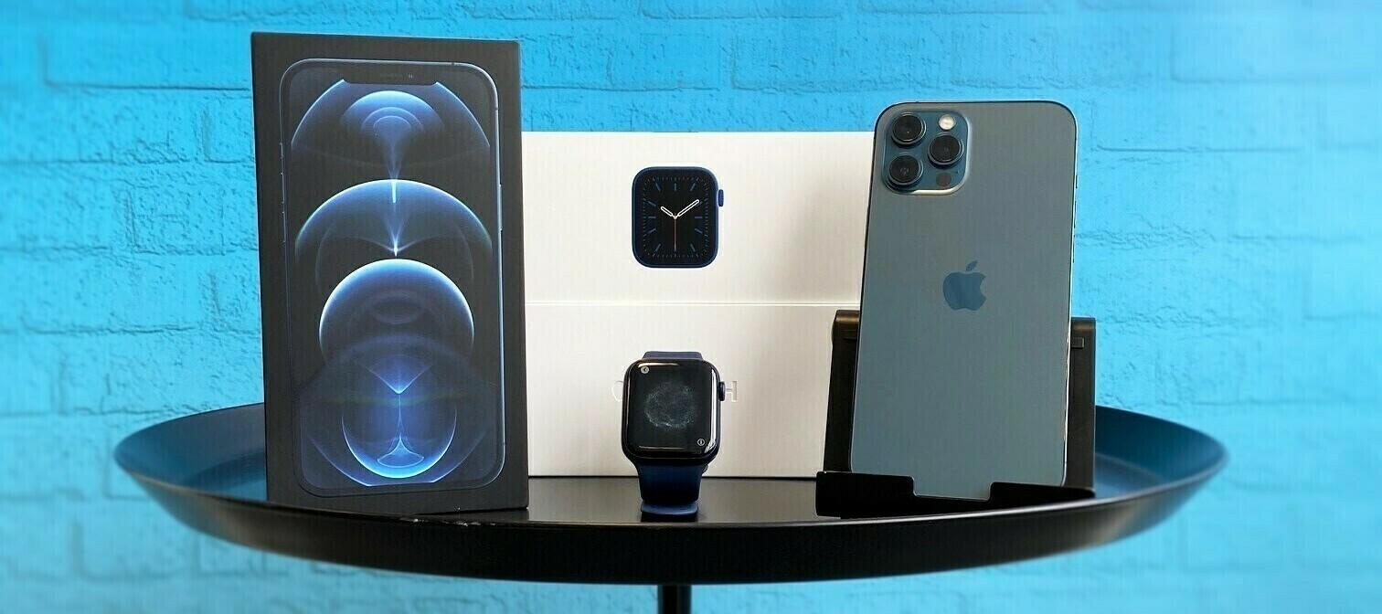 iPhone 12 Pro Max & Apple Watch Series 6 - das mega Bundle zum Testen