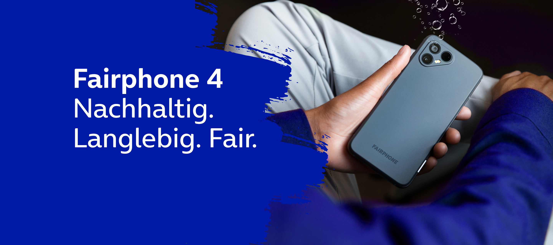Fairphone 4 - Das nachhaltige Smartphone bei O₂