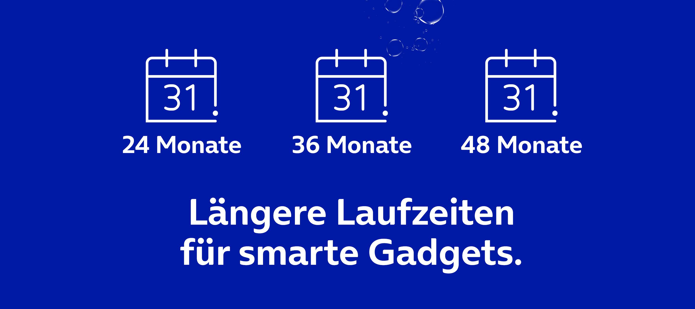 24, 36 oder 48 Monate? Top-Gadgets mit flexiblen Laufzeiten bei O₂
