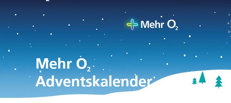 2019: Mehr o2 Adventskalender - Sicher dir deinen Gewinn