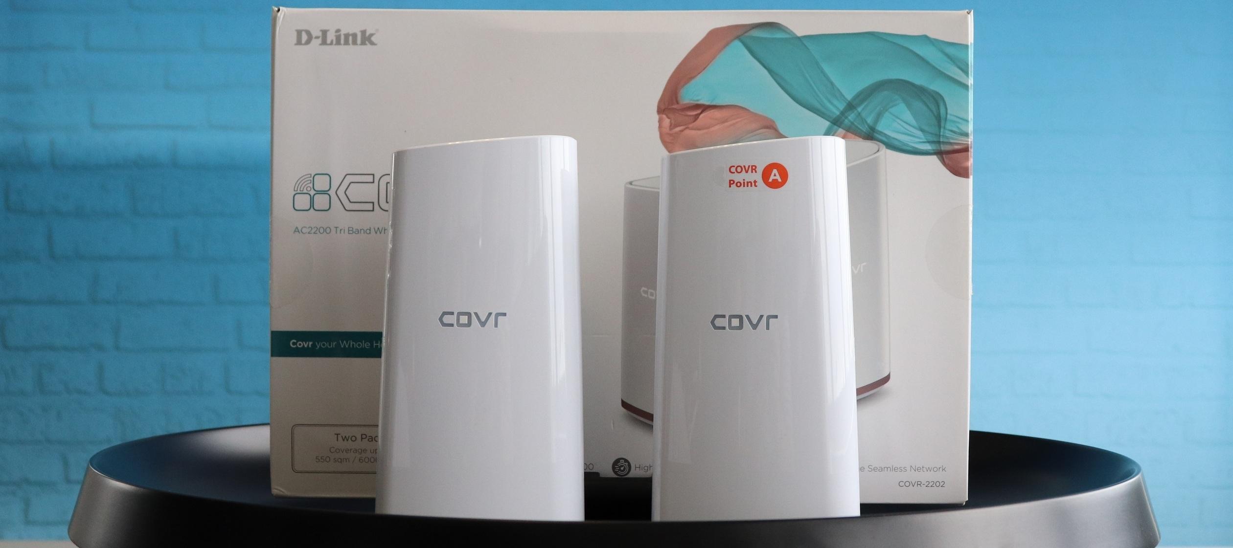 D-Link COVR AC2200 Testgerät: Mehr WLAN für dein zu Hause - Jetzt bewerben und Tester/in werden!