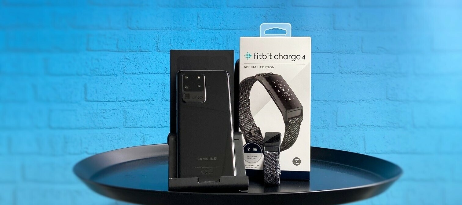 Samsung Galaxy S20 Ultra 5G + Fitbit Charge 4 Special Edition - das schicke Bundle sucht Tester:innen!