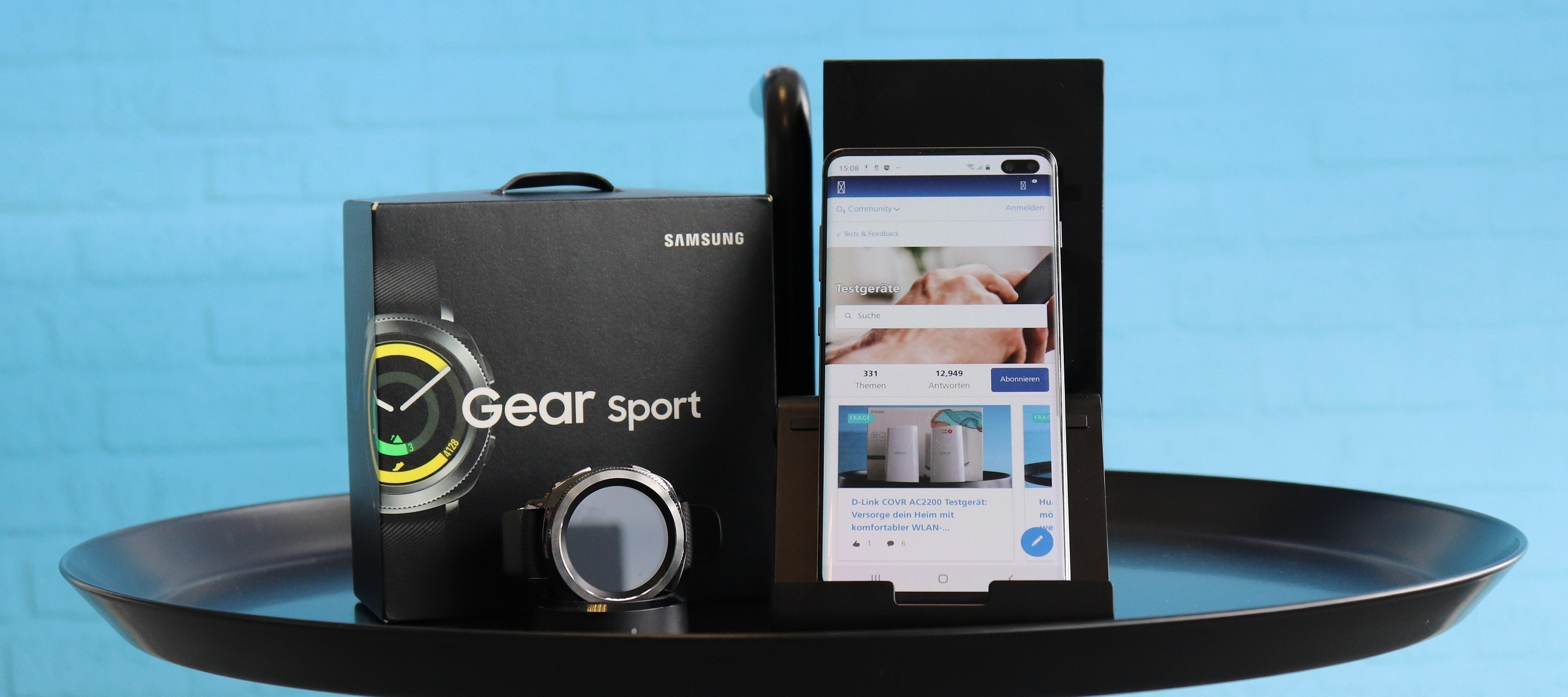 Samsung Galaxy S10+ & Samsung Gear Sport im Bundle zum Testen: Sportliche Vorsätze für das neue Jahr? Dann bewirb dich jetzt als Produkttester*in!