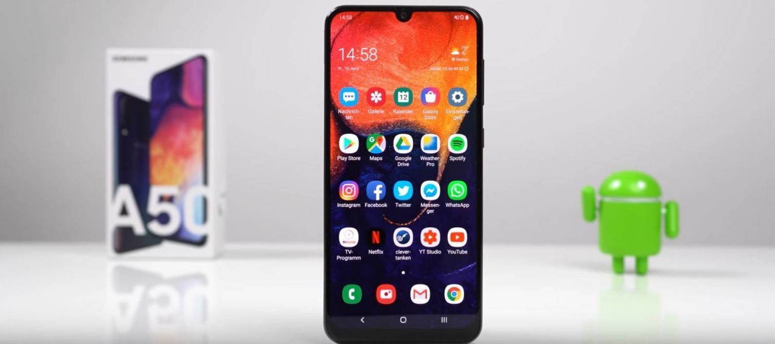 Samsung Galaxy A50 - Nur Mittelklasse?