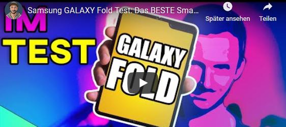 2.100 EURO für ein Smartphone: Kann das funktionieren? Mein Test zum Samsung Galaxy Fold