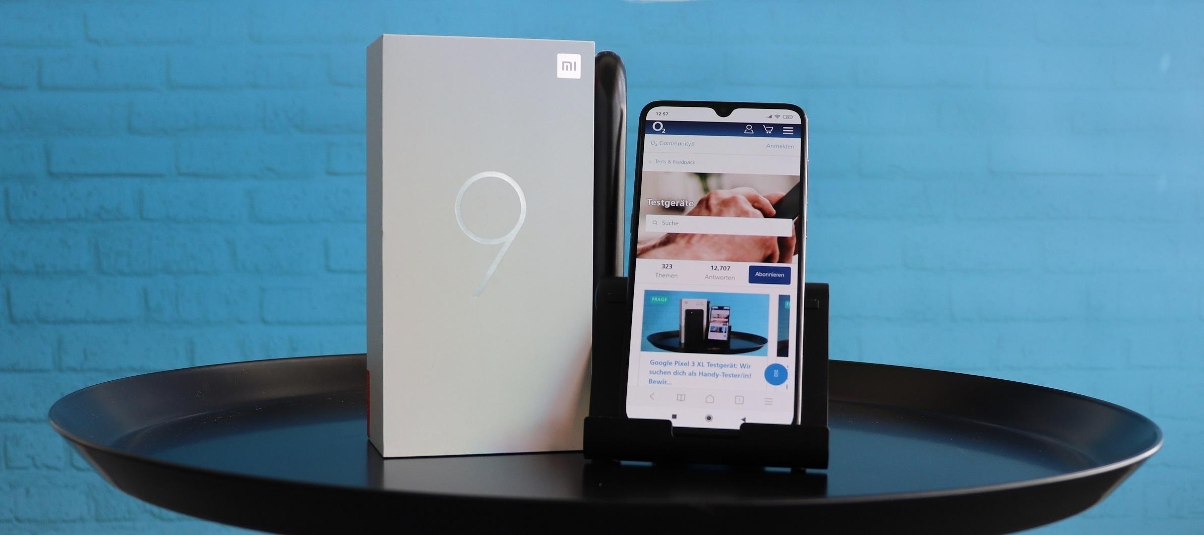 Xiaomi Mi 9. Teste die Spitzentechnik!