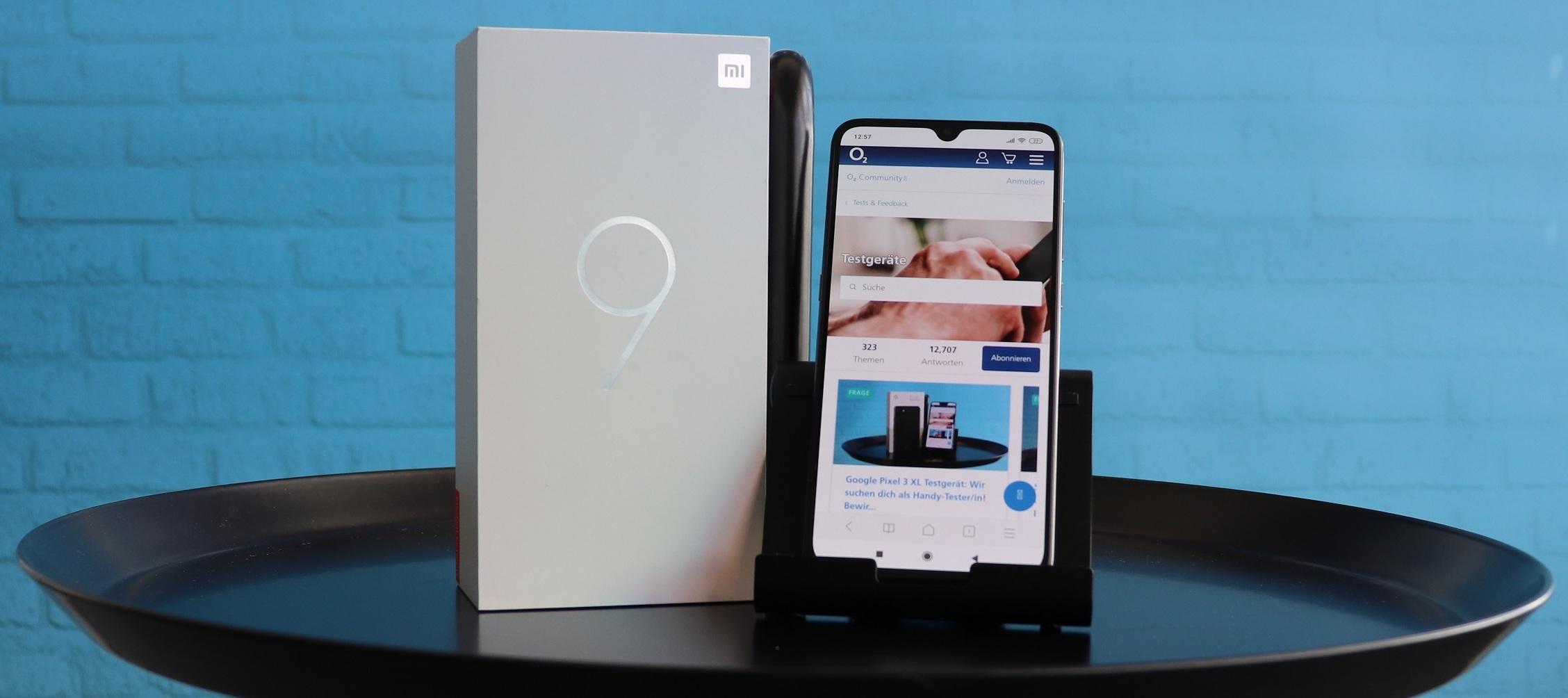 Xiaomi Mi 9 Testgerät: Tester und Testerinnen aufgepasst! Jetzt bewerben!