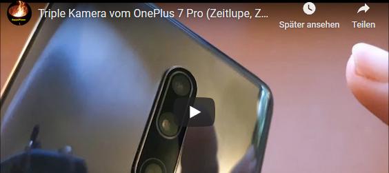 Triple Kamera vom OnePlus 7 Pro (Zeitlupe, Zeitraffer, Nightscape 2.0)