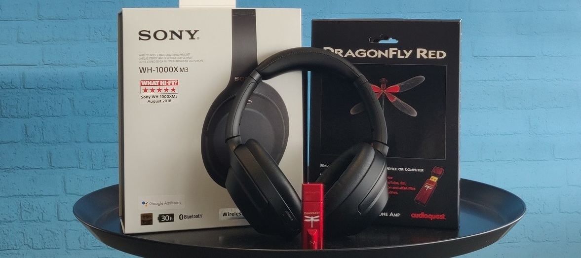 Sony WH-1000XM3 inkl. DragonFly Red Audio-Bundle: Welt aus, Musik an! Jetzt bewerben und Tester/in werden!