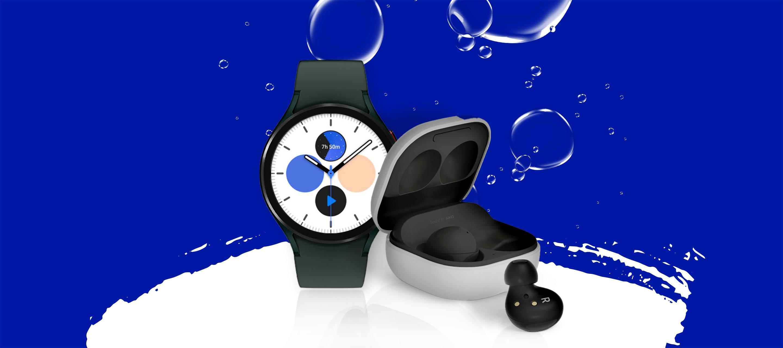 Smarte Gadgets von Samsung bei O₂: Die neue Galaxy Watch4 Serie und die Galaxy Buds2