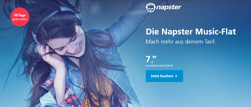 Battle der Musik-Streaming-Dienste: Die Napster Music-Flat +mobile