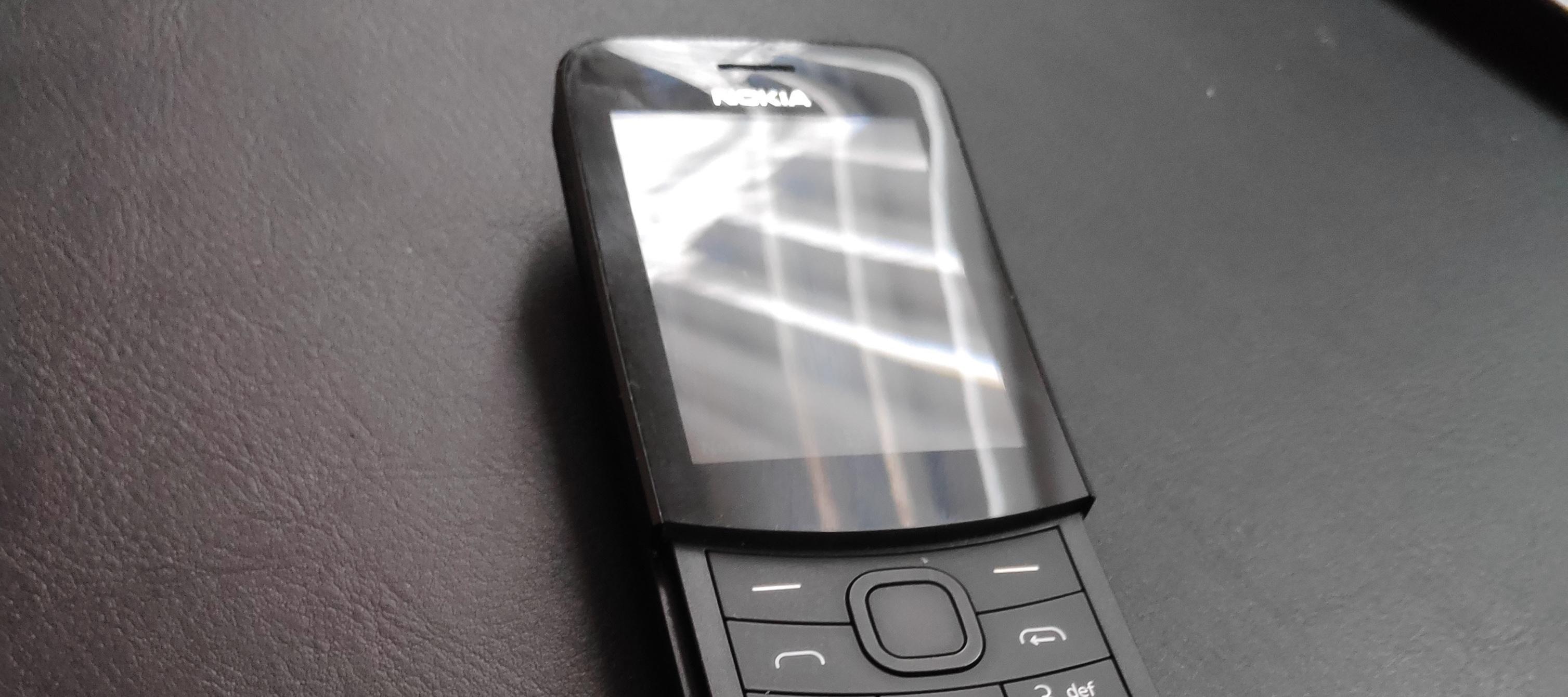 Nokia 8110 - Entschleunigung oder Ausbremsung