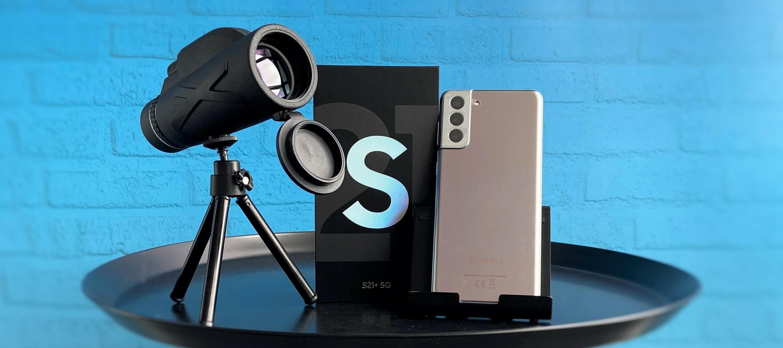 Samsung Galaxy S21+ inkl. Telescope - Jetzt bewerben und das Fotobundle Testen.