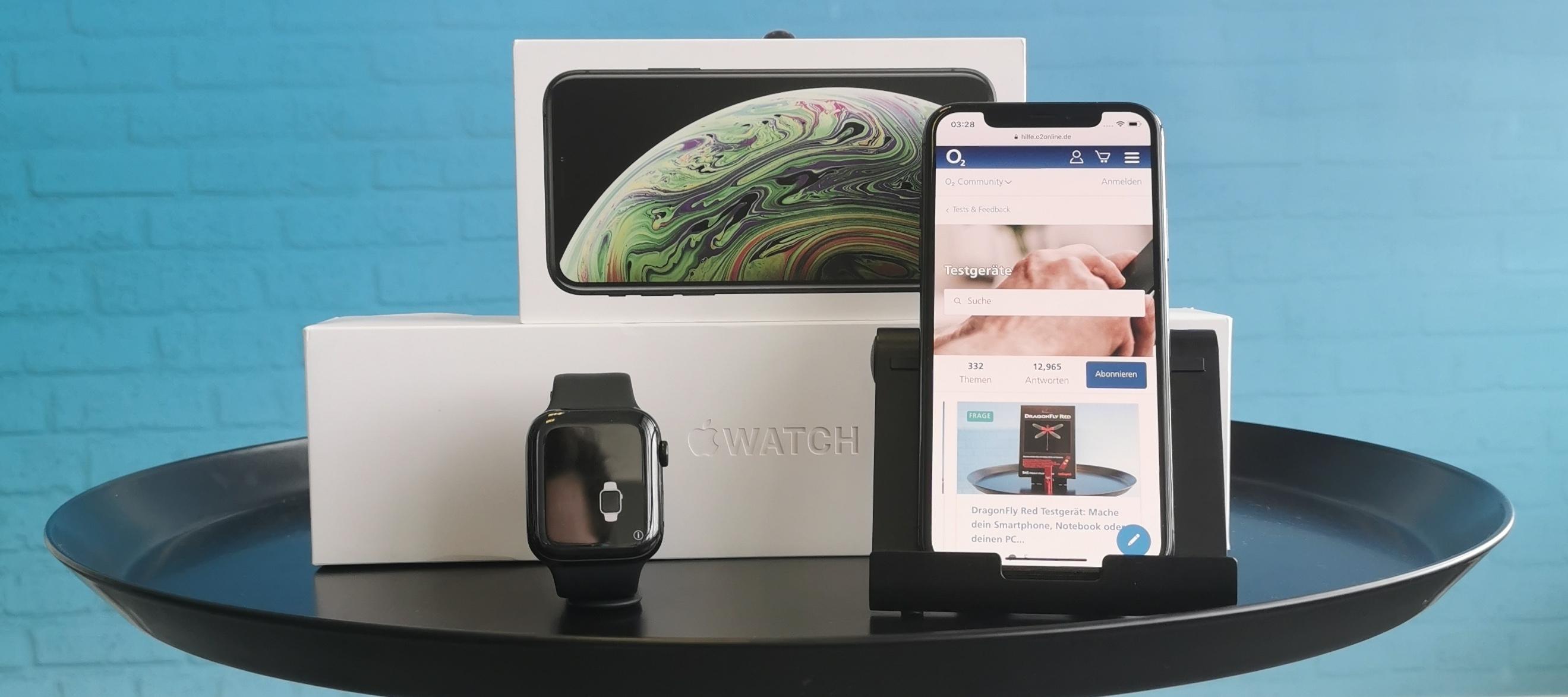 iPhone XS + Apple Watch Series 4 - das Apple Bundle sucht eine neue Testerin oder Tester!