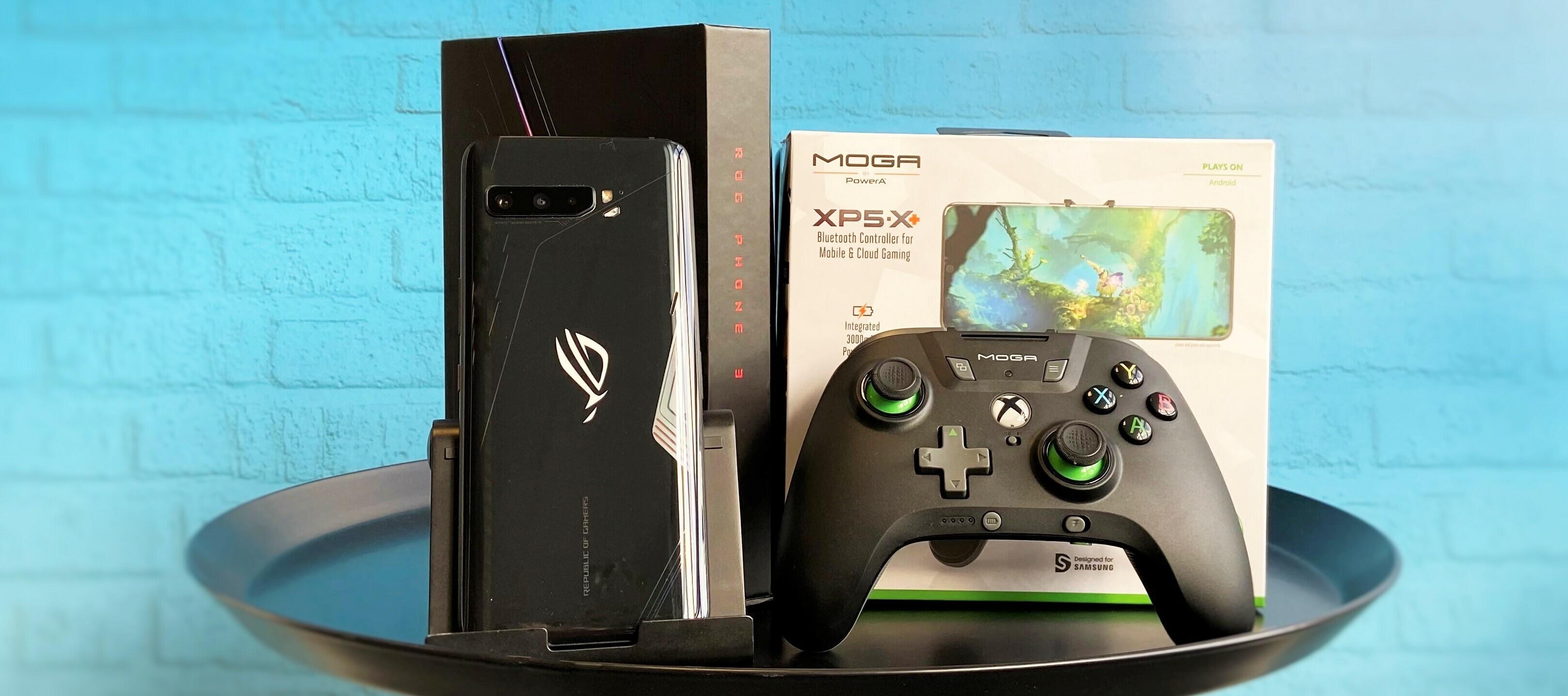 ASUS ROG Phone 3 inkl. Moga XP5X+ Bluetooth Controller - zocken und Tester*in werden!